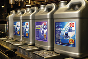 Cenex lubricants bottles